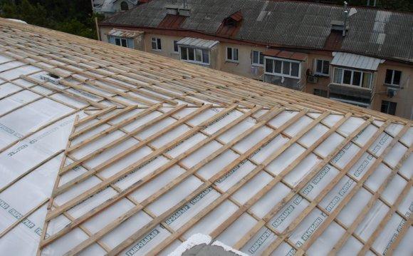 Гидроизоляции крыши под