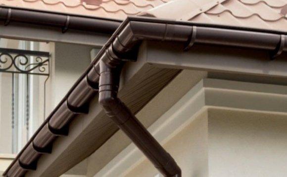 Отливы для крыши пластиковые