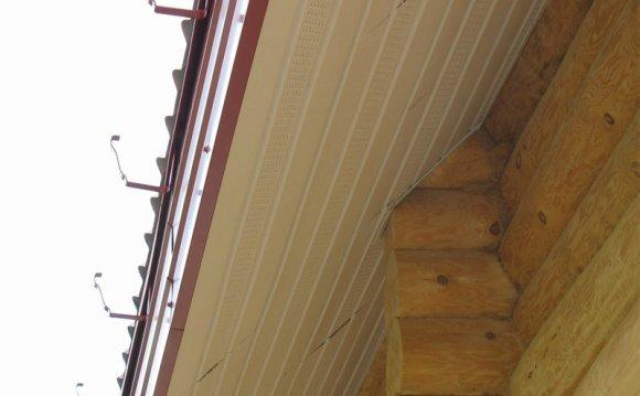 Как подшить крышу своими